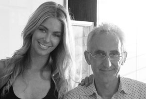 alan-hesline-and-jennifer-hawkins-b&w